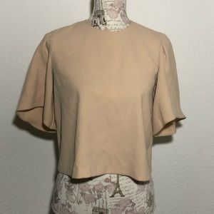 Zara Woman Loose Fit Cropped Top size S